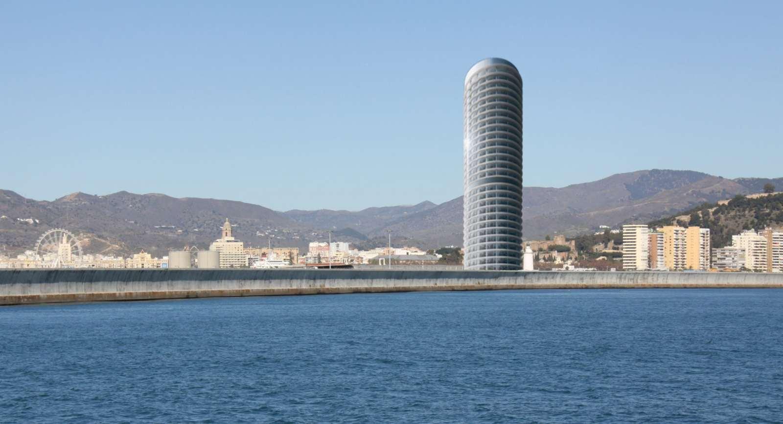 rascacielos Málaga